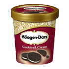 Häagen - Dazs Eiscreme Cookies and Cream