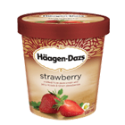 Häagen - Dazs Eiscreme Strawberry